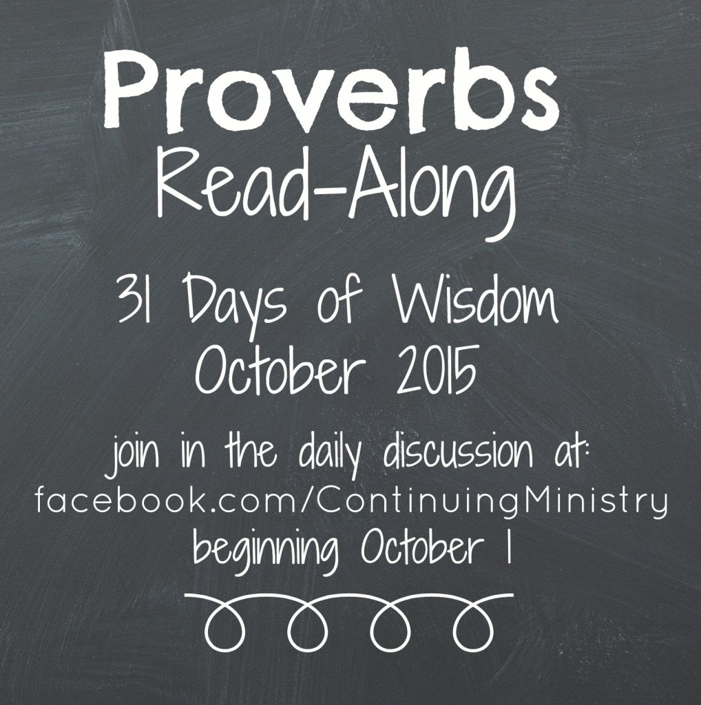 proverbs read along